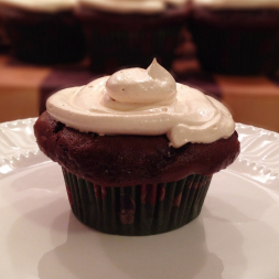 Eat Fit Not Fat- Chocolate Reese's Peanut Butter Cupcakes